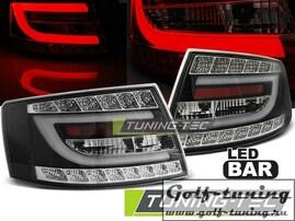 Audi A6 4F 04-08 Седан Фонари светодиодные, черные Lightbar
