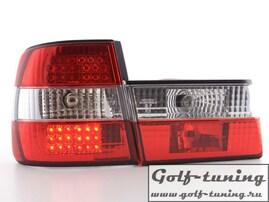 BMW E34 Фонари светодиодные, красно-белые
