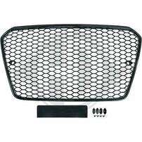 Audi A5 12-16 Решетка радиатора без значка в стиле RS5 черная