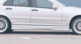 Mercedes W203 00-04 Накладки на пороги