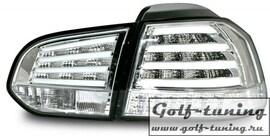 VW Golf 6 Фонари светодиодные, хром с светодиодным поворотником