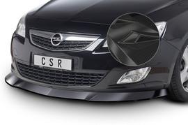 Opel Astra J 09-12 Накладка на передний бампер Carbon Look