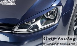 VW Golf 7 Ресницы на фары