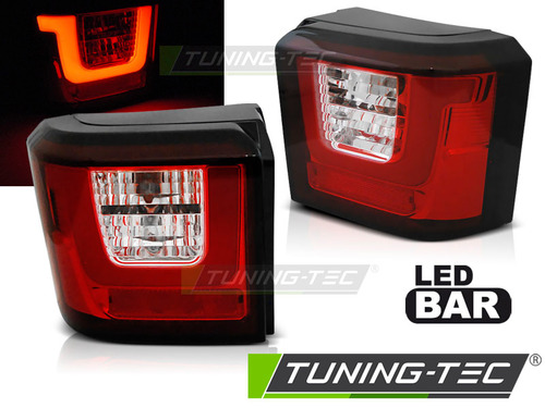 VW T4 90-03 Фонари светодиодные LED BAR, красно-белые