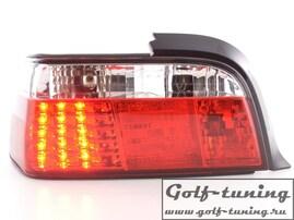 BMW E36 Купе Фонари светодиодные, красно-белые