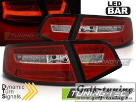 Audi A6 4F 08-11 Седан Фонари светодиодные Led bar design красно-белые