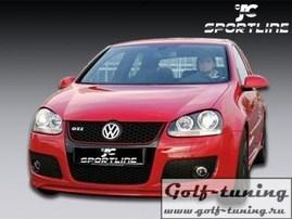 VW Golf 5 Спойлер переднего бампера Votex Design