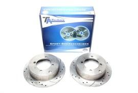 Mitsubishi Galant/Lancer/Santamo/Space Wagon/Space Runner Комплект спортивных тормозных дисков