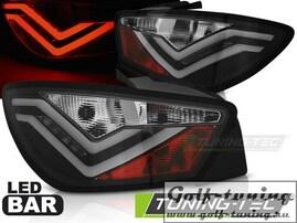 Seat Ibiza 6J 3D 08-12 Фонари светодиодные, черные Led bar design