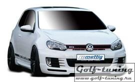 VW Golf 6 Накладки на фары