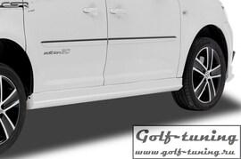 VW Caddy 2K 03-15 Накладки на пороги