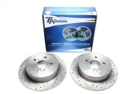 Toyota RAV 4 Комплект спортивных тормозных дисков