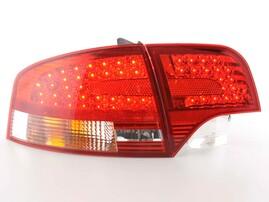 Audi A4 B7 04-08 Седан Фонари светодиодные, красно-белые