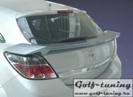 Opel Astra H GTC Спойлер на крышку багажника
