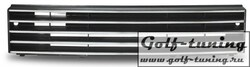 VW Polo 86C 90-94 Решетка радиатора без значка с хром полосками