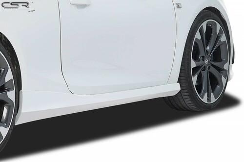 Opel Cascada 13- Накладки на пороги