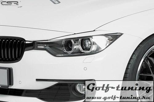 BMW 3er F30/ F31/F34 11-15 Реснички на фары