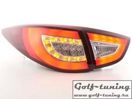 Hyundai IX35 10- Фонари светодиодные, красно-белые