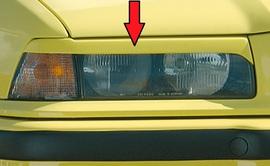 BMW E36 Компакт/Седан/Универсал Реснички на фары