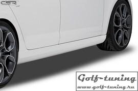 Skoda Octavia RS 12- Накладки на пороги