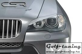 BMW X5 06- Реснички на фары