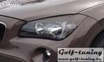 BMW X1 E84 09-12 Ресницы на фары