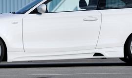 BMW E81/E82/E88 04-11 Накладки на пороги
