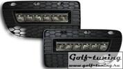 VW Golf 4 R32 Дневные ходовые огни черные JOM