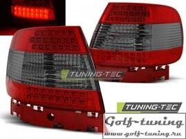 Audi A4 94-00 Фонари светодиодные, красно-тонированные