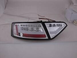 Audi A5 07-11 Фонари светодиодные, хром