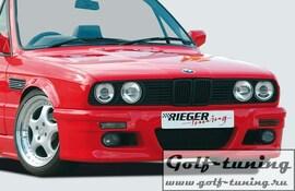 BMW E30 Передний бампер в стиле E46 M3