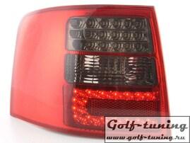 Audi A6 4B 97-03 Универсал Фонари светодиодные, красно-тонированные
