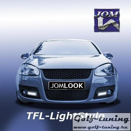 VW Golf 5 GTI Дневные ходовые огни черные JOM