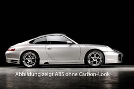 Porsche 911 (996) 97-05 Cabrio/Coupe Накладки на пороги Carbon Look