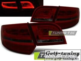 Audi A3 8P 04-08 Sportback Фонари светодиодные, красно-тонированные
