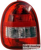 Opel Corsa B Фонари красно-белые