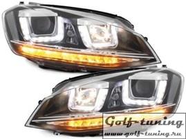 VW Golf 7 12-17 Фары R-Look черные