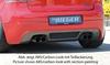 VW Golf 5 /+GTI Накладка на задний бампер