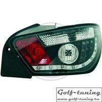 Seat Ibiza 6J 08-12 Фонари светодиодные, черные