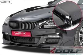 BMW F06/F12/F13 M-Paket 11- Накладка на передний бампер Cupspoilerlippe carbon look