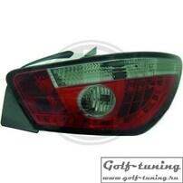 Seat Ibiza 6J 08-12 Фонари светодиодные, красно-тонированные