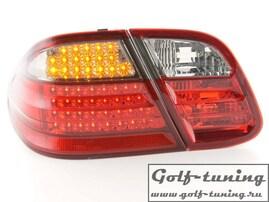 Mercedes W208 97-03 Фонари светодиодные, красно-тонированные