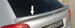 Audi A3 8P 3Дв 03- Спойлер на крышку багажника