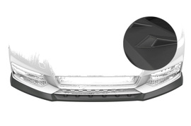 Audi A1 8X 15-18 Накладка на передний бампер матовая