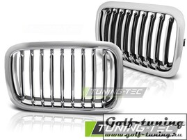 BMW E36 90-96 Решетки радиатора (ноздри) хром