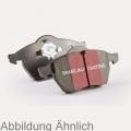 Mitsubishi Lancer 08- Тормозные колодки blackstuff задние