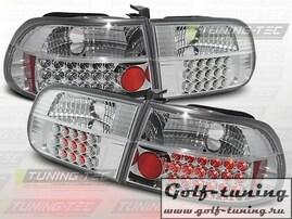 Honda Civic 91-95 3D Фонари светодиодные, хром