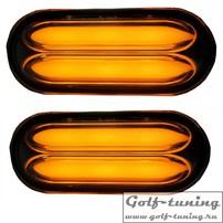 Ford/Seat/VW (список внутри) повторители в крыло lightbar design черные