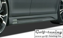 Skoda Fabia 2 Typ 5J 07-14 Накладки на пороги GT-Race