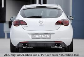 Opel Astra J 09-12 Накладка на задний бампер